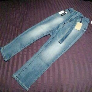 NWT Boom Boom Slim Straight Jeans